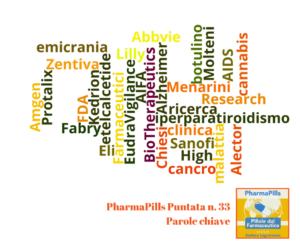 Pharmapills puntata n.33. Approvato disegno di legge per sperimentazioni cliniche